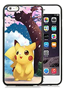 Fashion Designed Pokemon 21 Black iPhone 6 Plus 5.5 Inch Phone Case