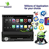 Ezonetronics Android 6.0 Quad Core Single Din 7 inch Capacitive Touch Screen High Definition