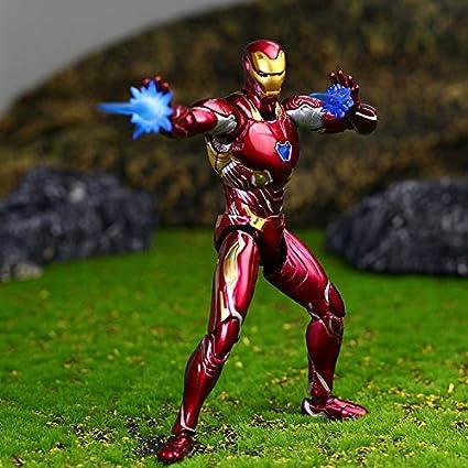 Amazon.com: Figura de acción de Tony Stark de Pino de 6.0 in ...