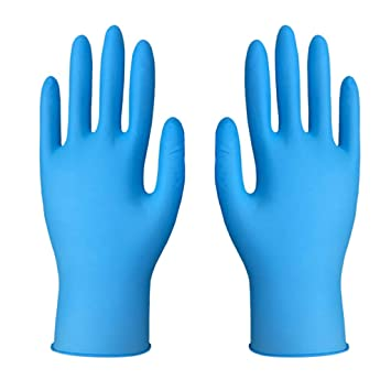 Disposable Powder-Free Latex Medical Exam Gloves Assorted Sizes