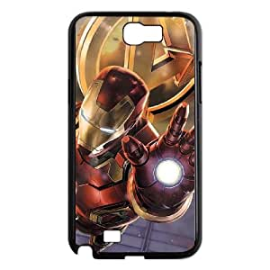 Samsung Galaxy N2 7100 Cell Phone Case Black Iron Man Aims Repulsor Beam OJ659907