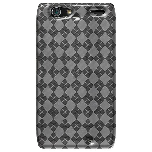 Amzer Luxe Argyle High Gloss TPU Soft Gel Skin Fit Case C...