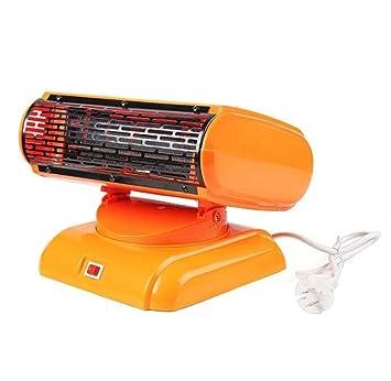 JASZHAO Portable Energía Ahorro Espacio De Aire Calentador, Calefacción De Escritorio Aire Acondicionado Ventilador 220V 500W Mini Calentador: Amazon.es: ...