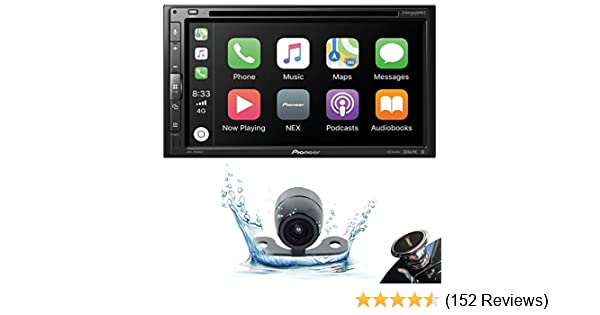 Pioneer AVH-2500NEX Double DIN in-Dash DVD//CD Car Stereo Receiver with Built-in Android Auto and Apple CarPlay AVH-2500NEX+XV-20C+MAGNET