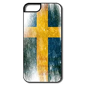 Alice7 Flag Sweden Case For Iphone 5,Cool Iphone 5 Case