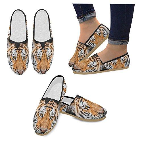 Interestprint Femmes Mocassins Classique Toile Casual Slip Sur La Mode Chaussures Sneakers Appartements Multi 15