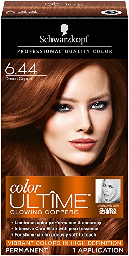Schwarzkopf Ultime Hair Color Cream Light Copper Red 8 4