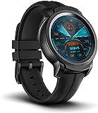TicWatch E2 スマートウォッチ Google Wear OS GPS 心拍計搭載 5ATM防水&水泳対応 多機能 フィットネス 腕時計 iPhone&Android対応 ブラック