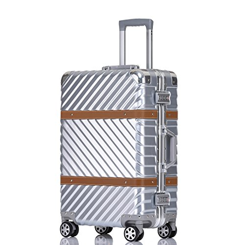 vintage luggage with wheels - 6
