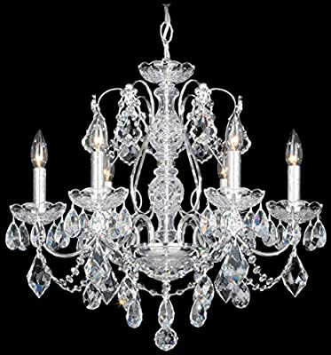 Schonbek 1705-22 Swarovski Lighting Century Chandelier, Heirloom Gold