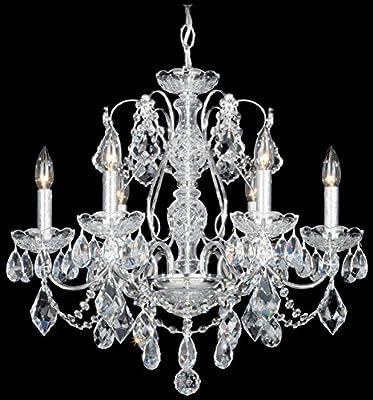 Schonbek 1705-49 Swarovski Lighting Century Chandelier, Black Pearl