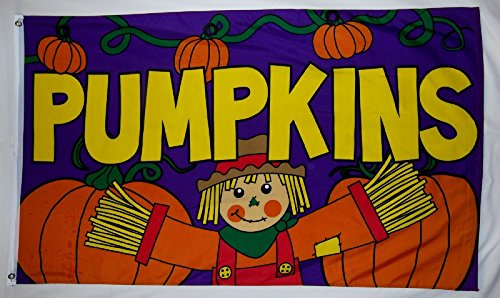 Pumpkin Patch Halloween and Thanksgiving 3' X 5' Flags & Com