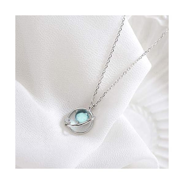 S925 Silver Cubic Zirconia Cross Women Pendant Necklaces ANAZOZ Women Jewelry