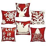 EOSAGA Christmas Pillow Covers Christmas Decoration Pillow Covers...