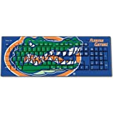 Florida Gators Keyscaper Wired Keyboard officially licensed by the University of Florida Full Size Low Profile Direct Print Plug & Play by keyscaper®