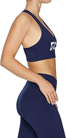 Rockwear Activewear Women's Mi Strappy Racer Back Bra From size 4-18 Medium Impact Bras For