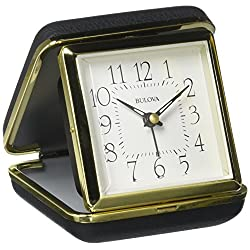 Bulova Vacationer Travel Clock, Gold