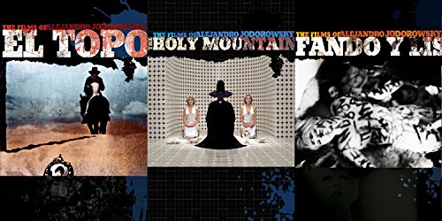 Alejandro Jodorowsky DVD Set - The Holy Mountain, El Topo & Fando y Lis 3-Movie Set