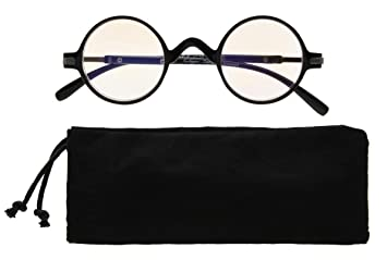 a2d7461f5fc Image Unavailable. Image not available for. Color  Eyekepper Anti UV Round  Reading Glasses Vintage Professor Oval Readers ...