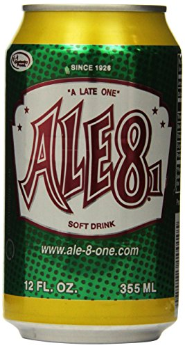 Ale 8 One Soda, 12 Ounce (12 Cans)