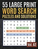 55 Large Print Word Search Puzzles and