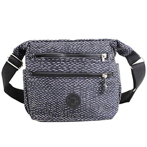 diseño negro magnético mujer blanco de Diseño hombro de bolso de para neopreno Bolso cierre mujer de bolso para elegante wTwPE4qX
