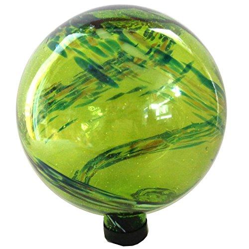 Gardener Select 16BFG01 Green Glow N Dark Globe, - Gazing The Glow Balls In Dark