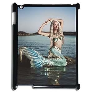 LZHCASE Diy Cover Custom Case Mermaid For IPad 2,3,4 [Pattern-1]