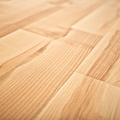 Quick-Step NatureTEC Home Sound Blonde Maple 7mm Laminate Flooring + 2mm Attached Pad SFS031 SAMPLE - Maple Natural Laminate Flooring