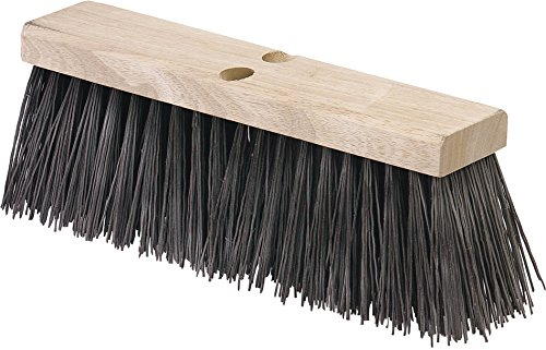 Carlisle 3611302401 Flo-Pac Hardwood Block Floor Sweep, Heavy Polypropylene Bristles, 5.13