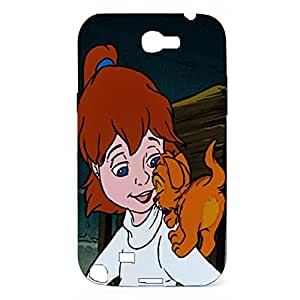 Samsung Galaxy Note 2 N7100 Case Hipster Vintage Oliver & Company 3D Protective Cellphone Case