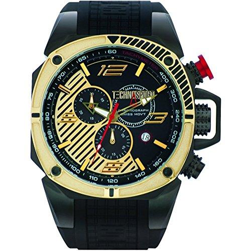 TechnoSport Men's Chrono Watch - FORMULA gold
