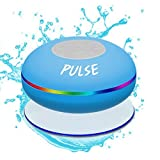 CSJ  Pulse Wireless Waterproof Bluetooth 4.0 Shower Speaker - Blue