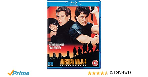 American Ninja 4: The Annihilation Blu-ray Reino Unido ...