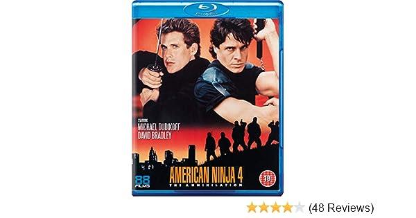 Amazon.com: American Ninja 4: The Annihilation [Blu-ray ...