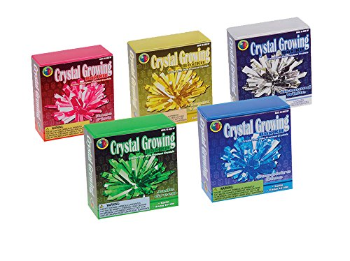 Toysmith Crystal Growing Kit, Colors May Vary
