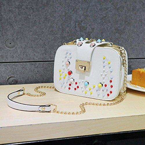 Aoligei Sac mode marée épaule unique messenger sac loisirs Xiaofang Bao sac à main de la femme C