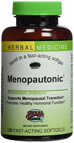 Herbs Etc - Menopautonic Alcohol Free - 120 Softgels Herbs Etc Alcohol