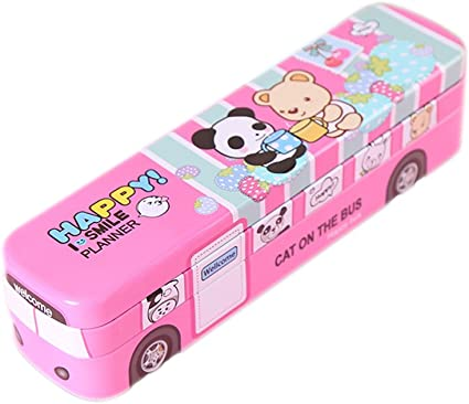 skyflying Cartoon Bus – Estuche con material de oficina (Pack de ...