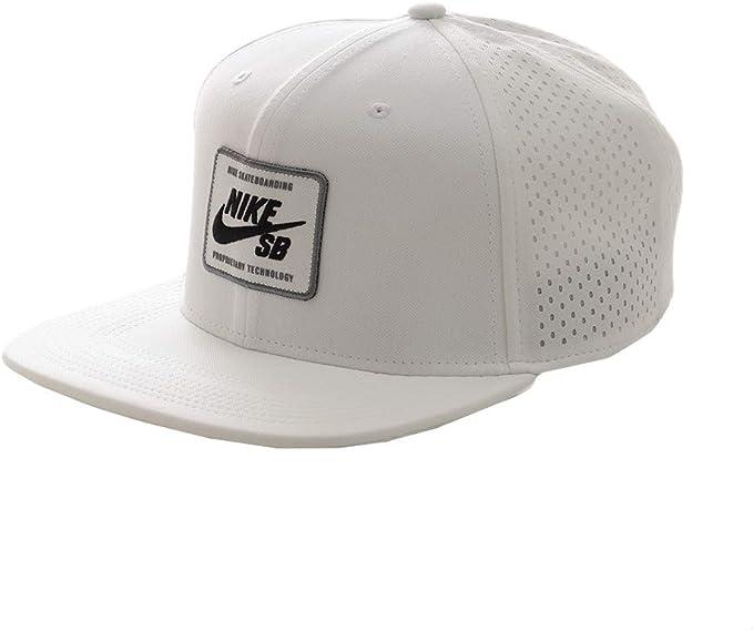 Nike U Nk Arobill Pro Cap 2.0 Gorra, Unisex Adulto, White/Black ...