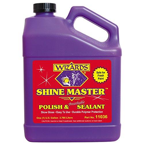 Wizards 11036 Shine Master Polish and Sealant - 1 Gallon
