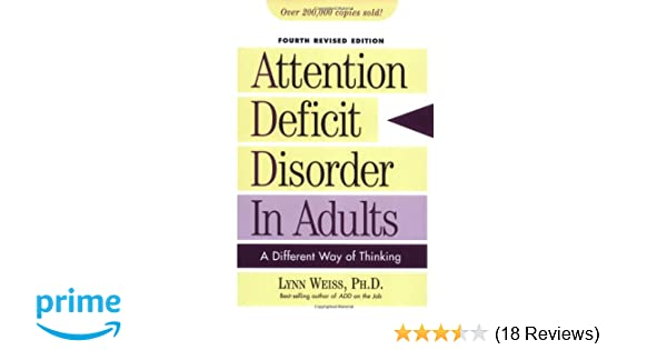 4th adult attention deficit different disorder edition in thinking way images