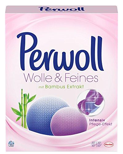 Perwoll Wolle & Feines, Pulver, Waschmittel (1 x 16WL)