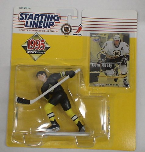 STARTING LINEUP 1995 HOCKEY BRUINS CAM NEELY MOC