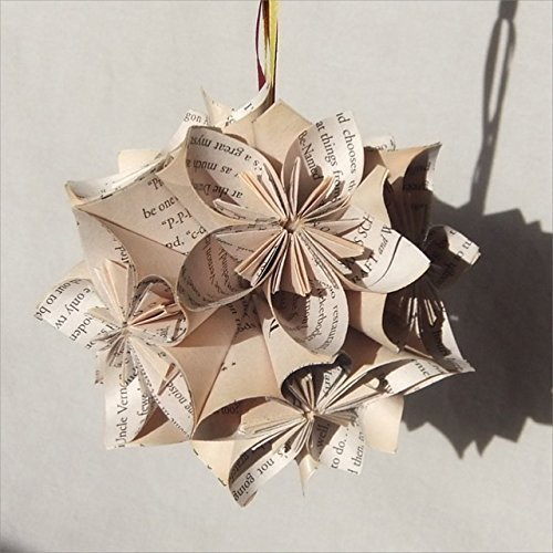 Amazon Harry Potter Origami Christmas Tree Ornament Large Handmade