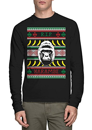 Long Sleeve Mens RIP Harambe