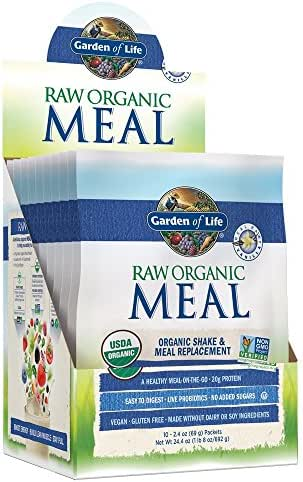Protein & Meal Replacement: Garden of Life Raw Organic Meal Packets