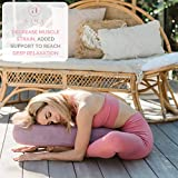 Ajna Yoga Bolster Pillow for Meditation and Support