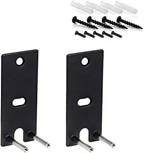 1 or 2 Pair of Steel Wall Mount Bracket for Bose OmniJewel Lifestyle 650 Home Entertainment System, Speakers Wall Mount Brackets Replacement