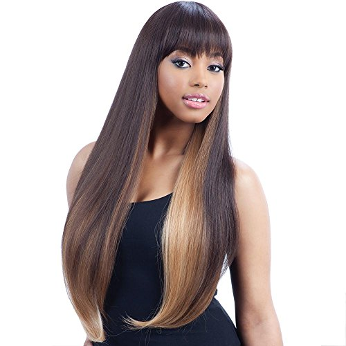 (FreeTress Equal Hair Whole Lace Wig - CAT'S EYE (1 - Jet)